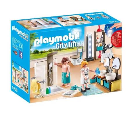 Acheter 9268 Salle De Bain Avec Douche A L Italienne Playmobil City
