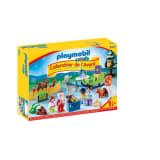 9391 Playmobil Calendrier Avent 1.2.3 'Père Noël animaux forêt 0819
