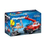 9465 Playmobil Pompier avec véhicule et bras téléscopique 1218
