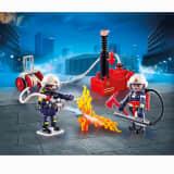 9468 Playmobil Pompiers avec matériel d'incendie 1218