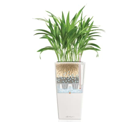 lechuza blumentopf cubico 30 komplett set hochglanz wei 18181 g nstig kaufen. Black Bedroom Furniture Sets. Home Design Ideas