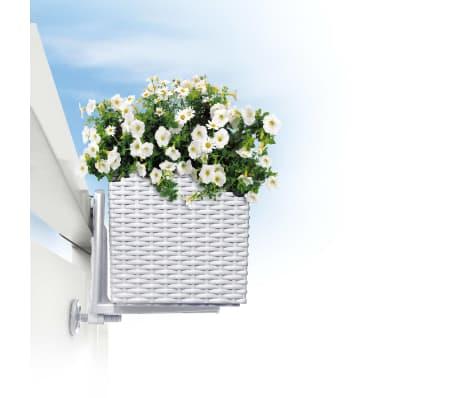Lechuza Balkon Blumenkasten Halterung Weiß 19030 Vidaxlde