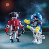 70080 Playmobil Pack Duo Espace Agent et Robot