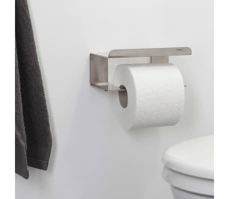 acheter tiger porte papier toilette avec tag re colar argent 1314230946 pas cher. Black Bedroom Furniture Sets. Home Design Ideas