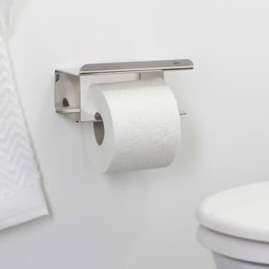 acheter tiger porte papier toilette colar avec tag re chrom 1314230346 pas cher. Black Bedroom Furniture Sets. Home Design Ideas