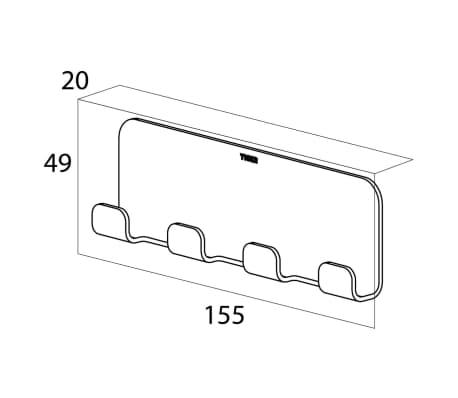 tiger multi handtuchhaken colar ohne bohren chrom 1314730346 g nstig kaufen. Black Bedroom Furniture Sets. Home Design Ideas