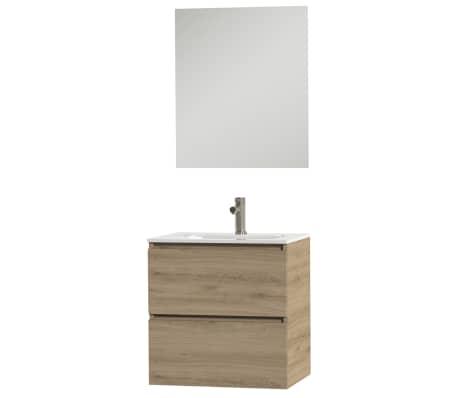 Tiger Badkamer meubelset Loft 60 cm eikenhout wit 1644313200 online ...