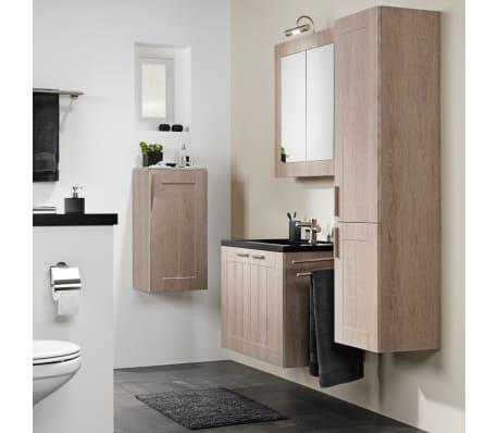 Tiger set di mobili da bagno frames 80 cm rovere nero 1646423750 - Tiger accessori bagno ...