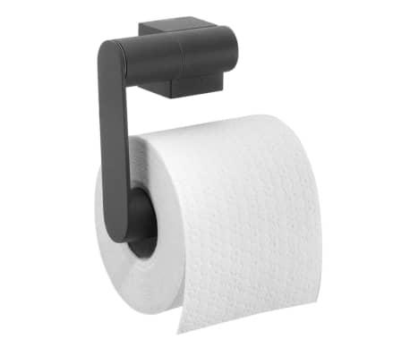 acheter porte papier toilette tiger nomad noir 249030746 pas cher. Black Bedroom Furniture Sets. Home Design Ideas