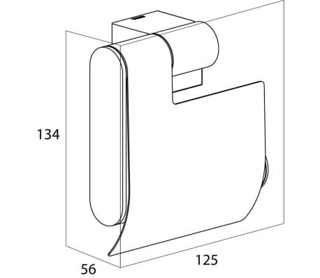 porte papier toilette tiger nomad chrome 249130346. Black Bedroom Furniture Sets. Home Design Ideas