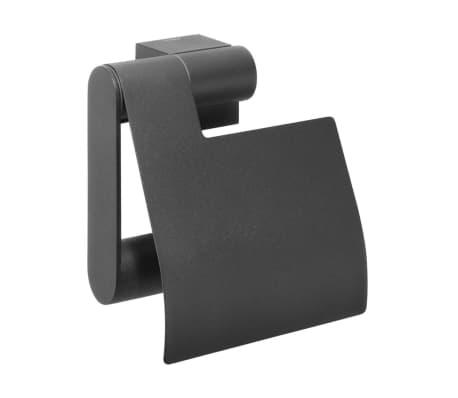 porte papier toilette tiger nomad noir 249130746. Black Bedroom Furniture Sets. Home Design Ideas