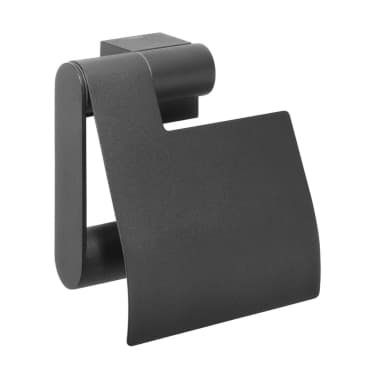 Zwarte Wc Rolhouder Tiger.Tiger Toilet Roll Holder Nomad Black 249130746
