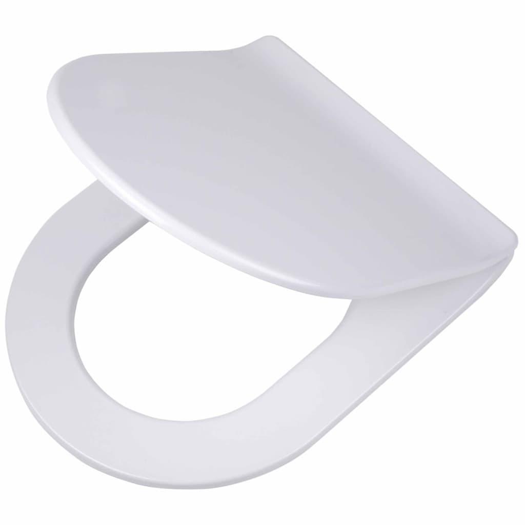 Afbeelding van Tiger Soft-close toiletbril Carter Duroplast wit 250020646