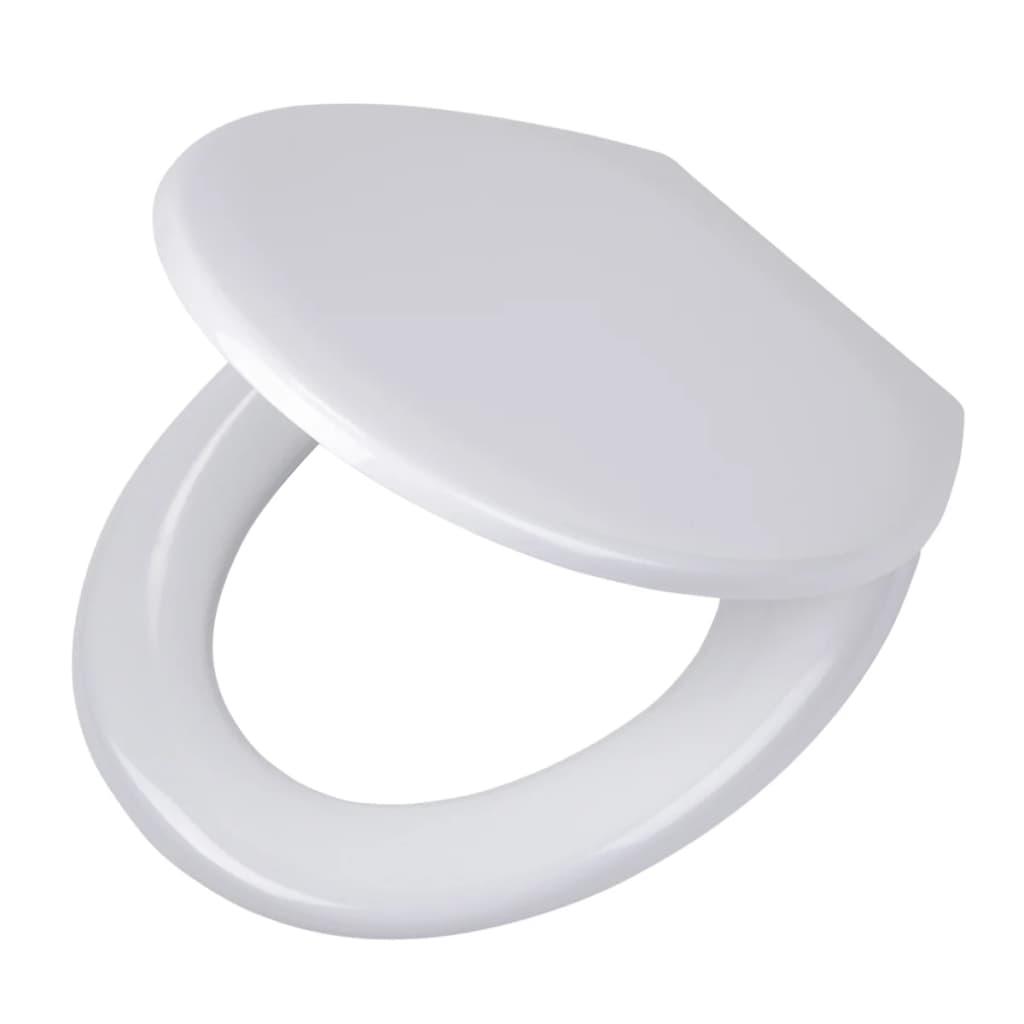 Afbeelding van Tiger toiletbril Pasadena thermoplast wit 250010646