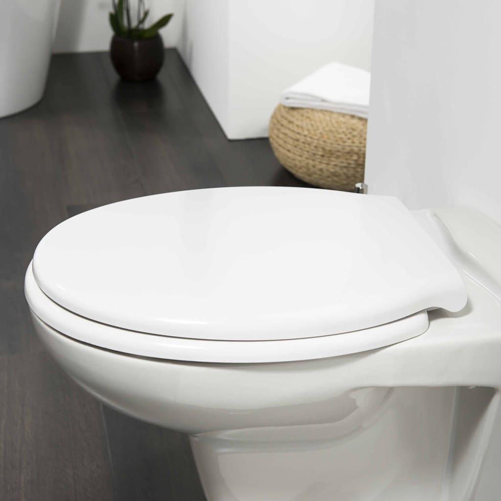 Tiger Soft-close toiletbril Burton Duroplast wit 251460646