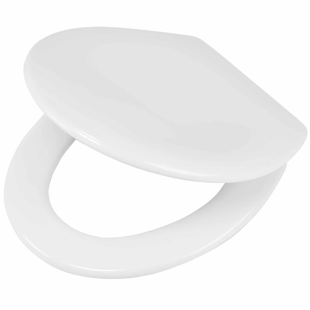 Afbeelding van Tiger Soft-close toiletbril Ventura Duroplast wit 251490646