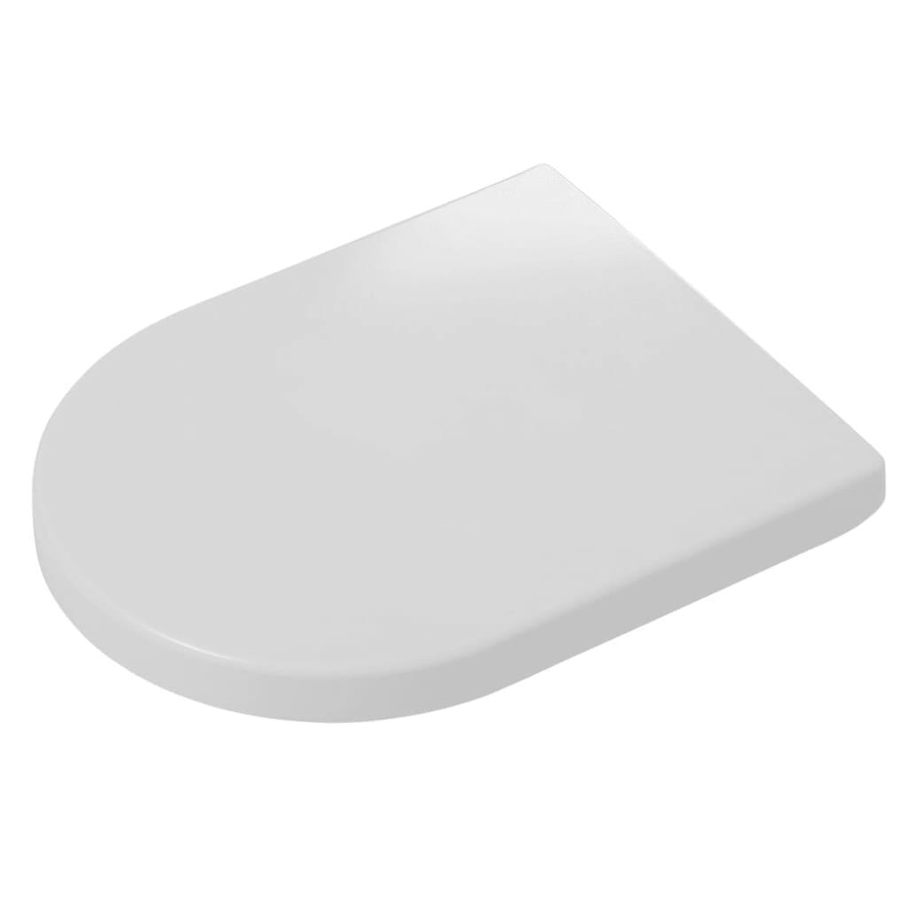 Tiger Soft-close toiletbril Memphis Duroplast wit 252930646