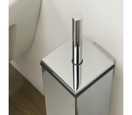 Tiger scopino per water wc con supporto items cromo 282430346 - Tiger accessori bagno ...