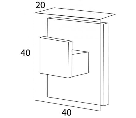 Tiger 4x2 cm króm törölközőtartó elemek 284520346[3/3]