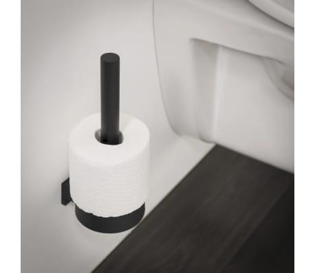 Tiger Portarrollos de papel higiénico de repuesto Bold negro mate[3/6]