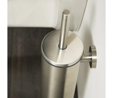 Tiger scopino per water wc con supporto boston argento 309930946 - Tiger accessori bagno ...