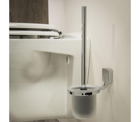 tiger impuls klob rste und halter chrom 11x15 3 cm. Black Bedroom Furniture Sets. Home Design Ideas