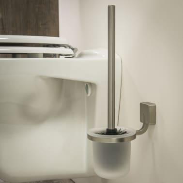 Tiger scopino con porta scopino water argento impuls 11x15 - Tiger accessori bagno ...