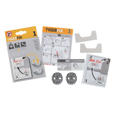 Tiger Klebesystem TigerFix Type 1 Metall 398730046[1/4]