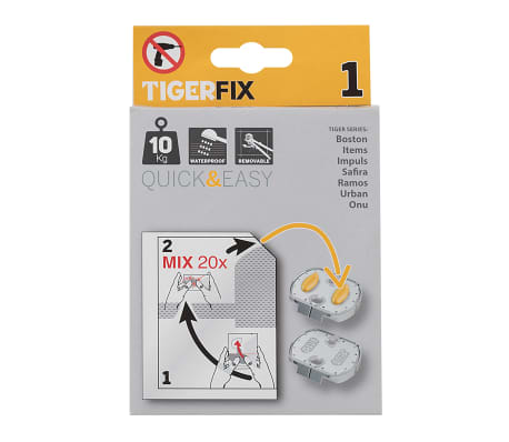 Tiger Klebesystem TigerFix Type 1 Metall 398730046[3/4]