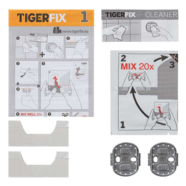 Tiger Klebesystem TigerFix Type 1 Metall 398730046[2/4]