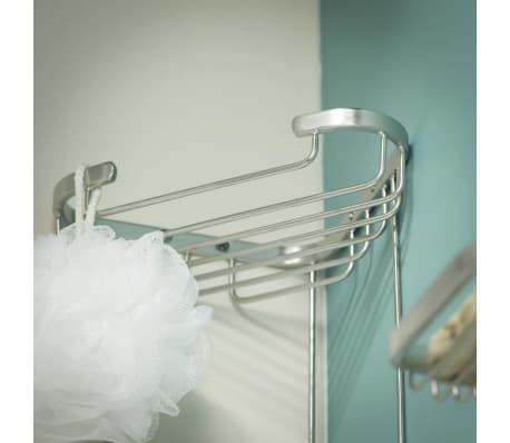 Tiger estanter a de esquina de ducha exquisit plateado for Tiger accesorios bano