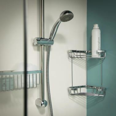 Tiger cestello doccia angolare exquisit cromato 489620342 - Tiger accessori bagno ...