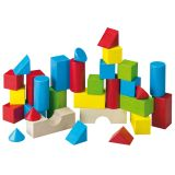 HABA Jeu de blocs de construction colorés 30 pcs 001076