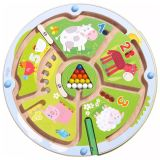 HABA Magnetic Dexterity Game Number Maze 301473