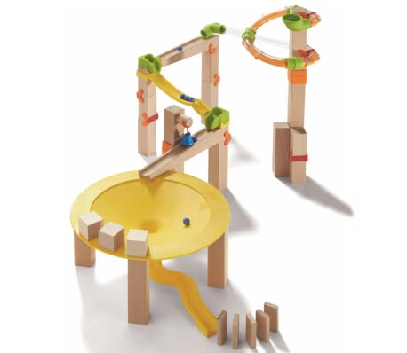 HABA Kit de démarrage circuit à billes Funnel Jungle 302945