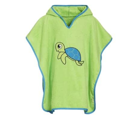 Playshoes badponcho schildpad groen junior maat L[1/2]