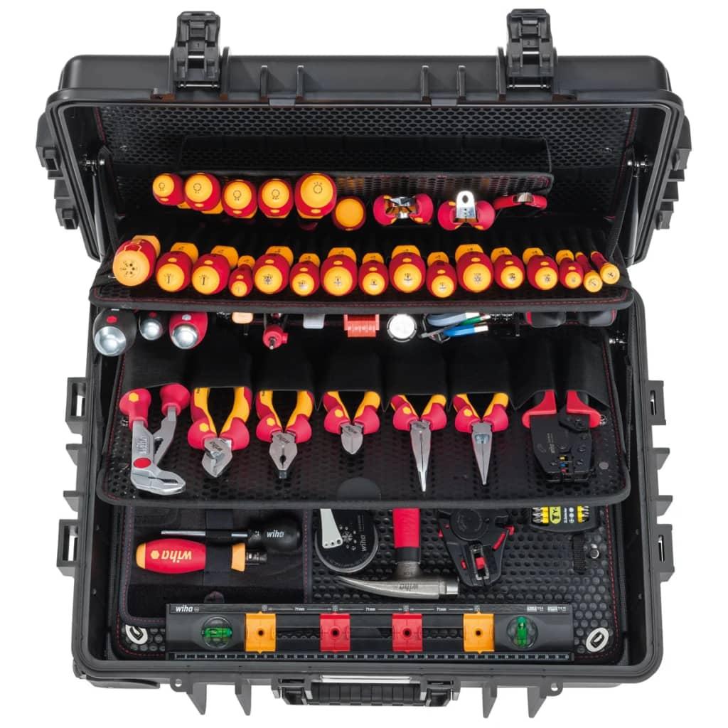 Afbeelding van Wiha Elektricien's gereedschapsset Competence XXL II 115-delig 42069