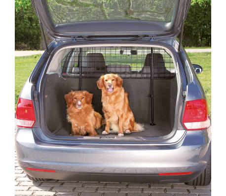 TRIXIE Barriera Auto e Furgoni per Cani e Oggetti Regolabile Nera 1325