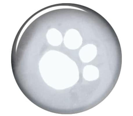 TRIXIE Imperméable pour chiens Tarbes L 60 cm PVC Transparent[3/4]