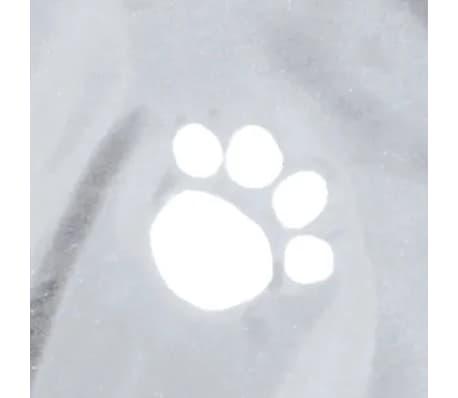 TRIXIE Imperméable pour chiens Tarbes L 60 cm PVC Transparent[4/4]