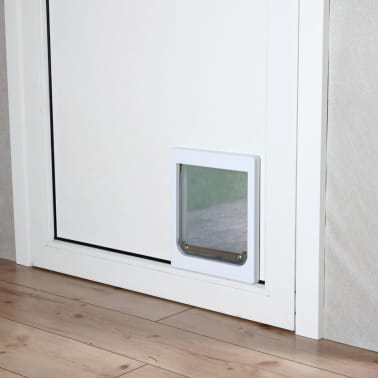 TRIXIE Chatière pour chiens à double sens Taille XS-S 25 x 29 cm Blanc[2/3]
