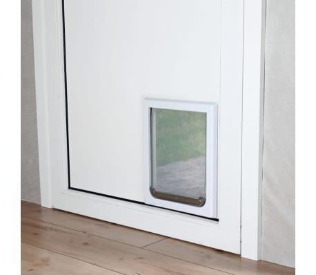 TRIXIE Chatière pour chiens à double sens Taille S-M 30 x 36 cm Blanc[2/3]