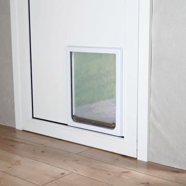 TRIXIE Priechodné dvierka pre psov, M-XL, 39x45 cm, biele, 3879[3/4]