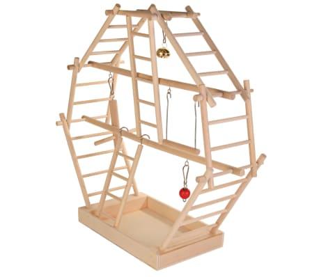 TRIXIE Fågellekställning 44x44x16 cm trä 5659[2/2]