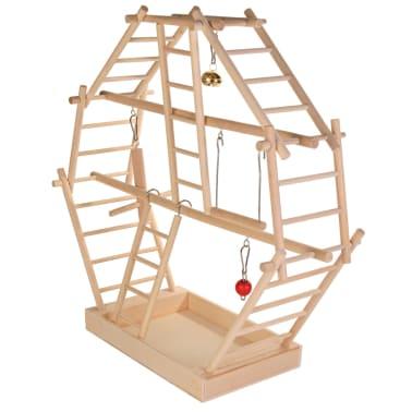 TRIXIE Holzleiter-Spielplatz 44x44x16 cm Holz 5659[2/2]