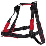 TRIXIE Lead'n'Walk Soft L-XL-es méretű fekete kutyahám 65-105 cm
