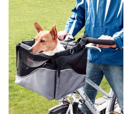 TRIXIE Transporter dla psa na rower, 41x26x26 cm, czarny i szary[3/3]