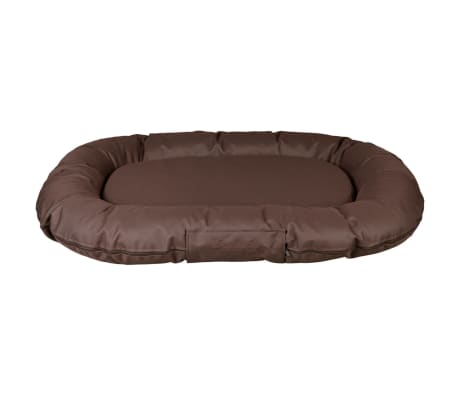 trixie lit pour chiens samoa sky 100x75 cm ovale polyester marron. Black Bedroom Furniture Sets. Home Design Ideas