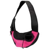 TRIXIE Huisdierendrager met band roze en zwart 28956