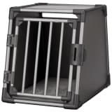 TRIXIE Lutande hundtransportbur aluminium strl. M grafitgrå 39336